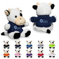 """795716621-159 - 7"""" Plush Cow w/T-Shirt - thumbnail"""