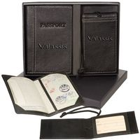 923397960-159 - Voyager™ Lloyd Harbor Passport & Magnetic Luggage Tag Set - thumbnail