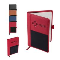 926038587-159 - Roma Journal w/Multi-Use Elastic Pocket - thumbnail
