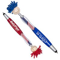 975034375-159 - Patriotic MopToppers® Screen Cleaner with Stylus Pen - thumbnail
