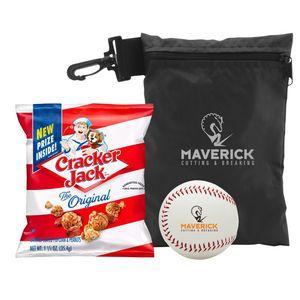 532106969-815 - Baseball w/Cracker Jacks in Valuables Pouch - thumbnail