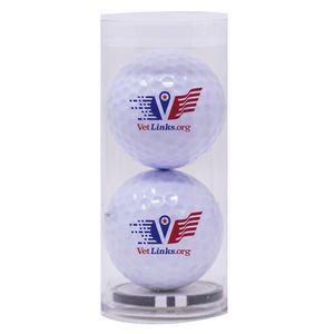 993992247-815 - 2-Ball Tube w/Poker Chip Ball Marker - thumbnail