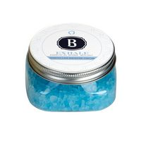 514566288-190 - 5.33 Oz. Essential Oil Infused Bath Salts in Clear Square Jar - thumbnail