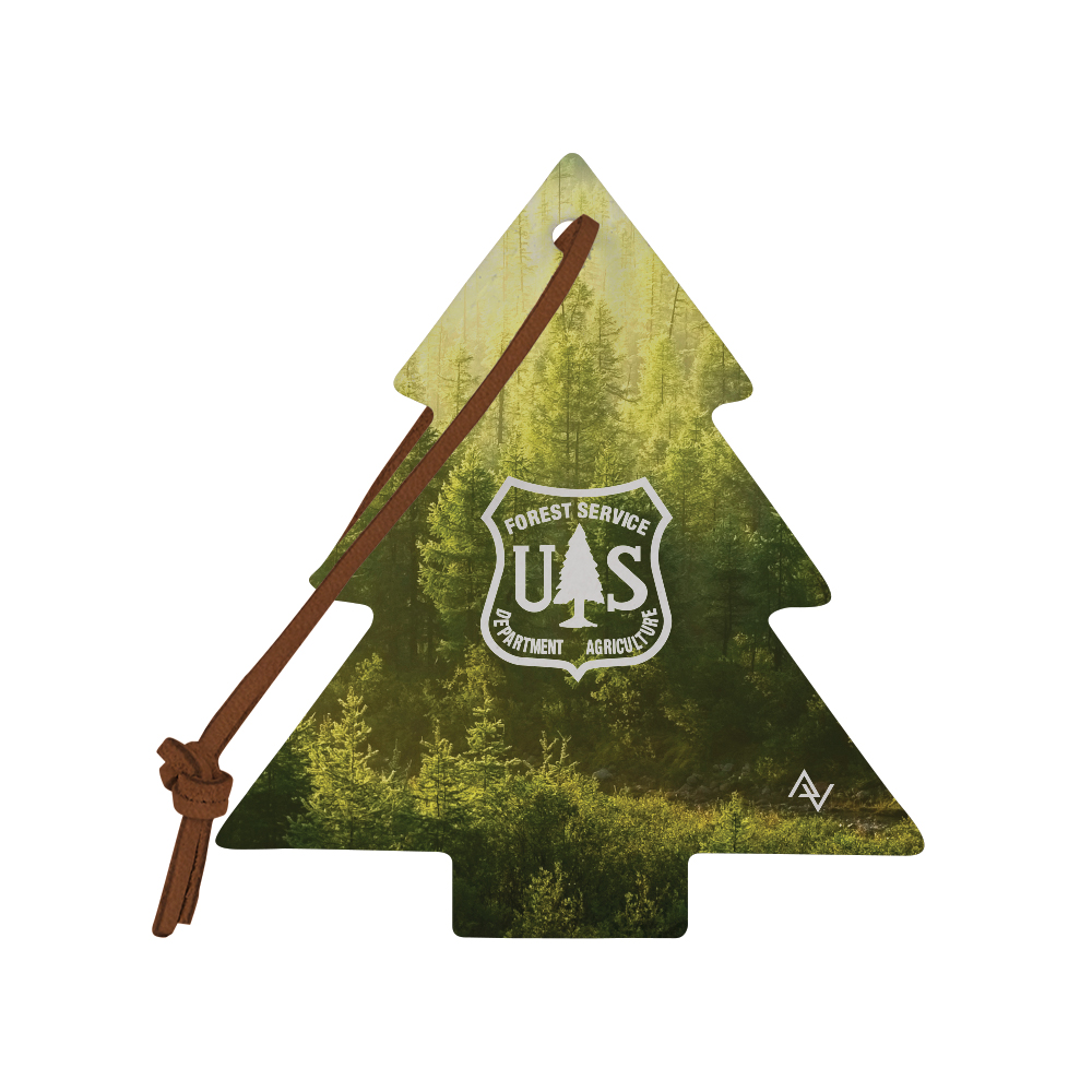 585937621-190 - DARWIN Dye-Sublimated Felt Tree Ornament - thumbnail