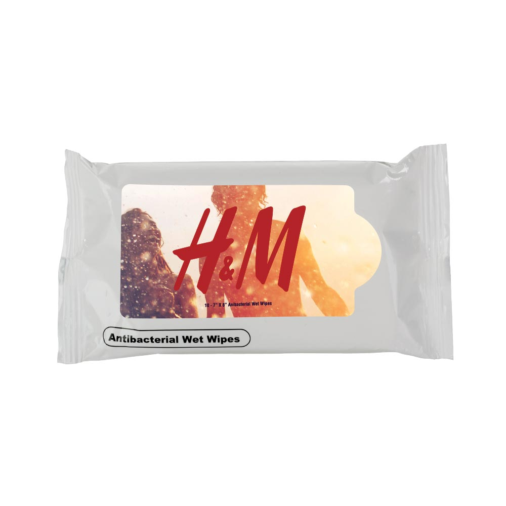 775322467-190 - 10-pack Antibacterial Wipes - thumbnail