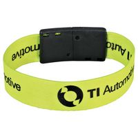 "725450429-103 - Full Color 3/4"" Wristband w/ Clip - thumbnail"