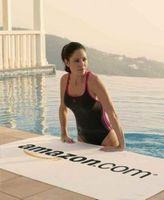 395548424-173 - Midweight American-Made White Beach Towel - thumbnail