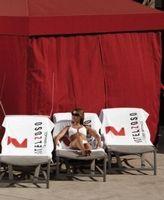 595548427-173 - Superior American-Made White Beach Towel - thumbnail