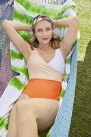 736198647-173 - Good Vibes Cabana Stripe Beach Towel™ - thumbnail