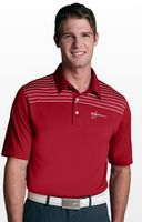 114268594-175 - Greg Norman Play Dry® Engineered Shoulder Stripe Polo Shirt - thumbnail