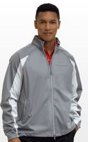 704970433-175 - Greg Norman Full-Zip Pieced Weatherknit Jacket - thumbnail