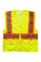 706377629-175 - Xtreme Visibility DOT Class 2 Contrast Stripe Zip Vest - thumbnail