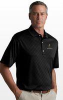 773990125-175 - Greg Norman Play Dry® ML75 Diamond Embossed Polo Shirt - thumbnail
