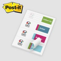 "165531680-125 - Post-it® Custom Printed Page Markers (2 7/8""x4"") - thumbnail"