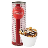 "106194975-153 - 8"" Valentine's Day Snack Tubes -White & Dark Chocolate Swirl Popcorn - thumbnail"