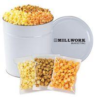 126423591-153 - 3 Way Popcorn Tins - (3.5 Gallon) - Individually Bagged - thumbnail