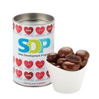 "156194920-153 - 4"" Valentine's Day Snack Tubes - Chocolate Cherries - thumbnail"