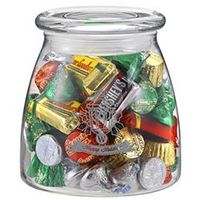 164493571-153 - Vibe Glass Jar - Hershey's Holiday Mix (27 Oz.) - thumbnail