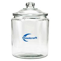 304419191-153 - Half Gallon Glass Jar - Empty (64 Oz.) - thumbnail