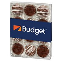 314416196-153 - Chocolate Covered Oreo® Gift Box - Chocolate Drizzle (12 pack) - thumbnail