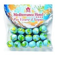 334553058-153 - Chocolate Earth Balls in Large Round Top Header Bag - thumbnail
