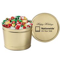 384096321-153 - Hershey's® Holiday Mix in 2 Gallon Tin - thumbnail