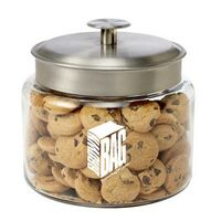 503491771-153 - Glass Cookie Jar - Mini Chocolate Chip Cookies (64 Oz.) - thumbnail
