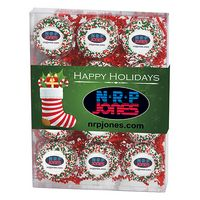 505179320-153 - Chocolate Covered Printed Oreo Gift Box - Holiday Nonpareil Sprinkles/Printed Cookie (12 pack) - thumbnail