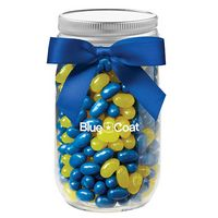 544417699-153 - Glass Mason Jar - Jelly Belly® Jelly Beans (16 Oz.) - thumbnail