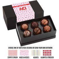 565549308-153 - Valentine's Day 6 Piece Decadent Truffle Box - Assortment 3 - thumbnail