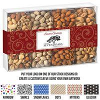 575184562-153 - 4 Way Contemporary Gift Box - Nut Quartet - thumbnail