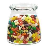 575432250-153 - Vibe Glass Jar - Jelly Belly® Jelly Beans (27 Oz.) - thumbnail