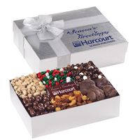 593870174-153 - 6 Way Deluxe Gift Box with Chocolate Bar - Gourmet Treat Selection - thumbnail