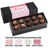 595549313-153 - Valentine's Day 10 Piece Decadent Truffle Box - Assortment 2 - thumbnail