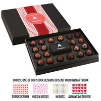 595549318-153 - Valentine's Day 20 Piece Decadent Truffle Box - thumbnail
