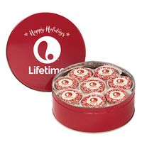 705179328-153 - 24 Custom Chocolate Covered Oreo® Cookies in Tin (Corporate Color Sprinkles) - thumbnail