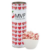 "716195038-153 - 8"" Valentine's Day Snack Tubes - Sweetheart Pretzels - thumbnail"