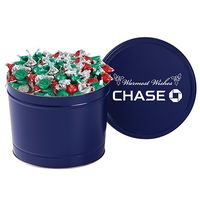725184614-153 - Hershey's® Holiday Kisses in 2 Gallon Tin - thumbnail