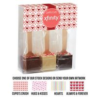735549396-153 - Crazy for You Hot Chocolate on a Spoon 3 Pack Gift Set - thumbnail