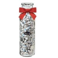 754419241-153 - Glass Hydration Jar - Hershey's® Kisses® (24 Oz.) - thumbnail