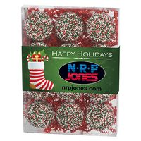 775179318-153 - Chocolate Covered Oreo Gift Box - Holiday Sprinkles (12 pack) - thumbnail