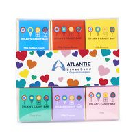 796200339-153 - Dylan's Candy Bar - Valentine's Day- 18 Piece Chocolate Square Gift Pack with Sleeve - thumbnail