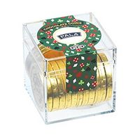 905436726-153 - Casino Cube w/ Chocolate Gold Coins - thumbnail