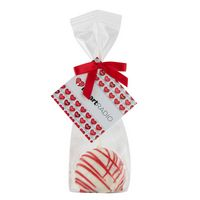 906195660-153 - Valentine's Day Belgian Chocolate Truffle Pops- White Chocolate w/ Red Drizzle - thumbnail