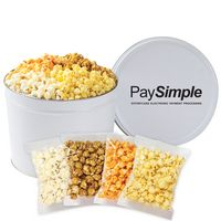 926423593-153 - 4 Way Popcorn Tins - (2 Gallon) - Individually Bagged - thumbnail