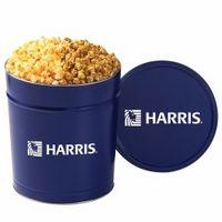934554240-153 - 2 Way Popcorn Tins - Caramel & Cheddar Popcorn (3.5 Gallon) - thumbnail
