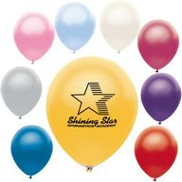 "16717607-157 - 9"" AdRite Metallic Color Economy Line Latex Balloon - thumbnail"