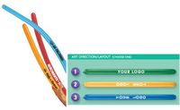 "361573465-157 - 2"" x 60"" AdWave Neon Color Latex Balloon - thumbnail"