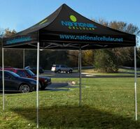 573704408-157 - 10' Square Event Tent Full-Color Dye Sublimation (6 Locations) - thumbnail