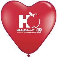 "77720514-157 - 11"" Qualatex Heart Standard Color Latex Balloon - thumbnail"